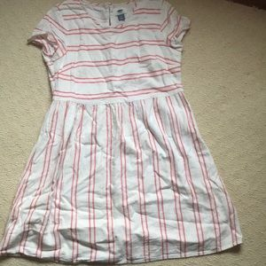 Adorable baby doll linen dress